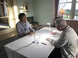 小井土社長面談